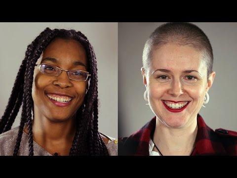 Interracial lesbian trib