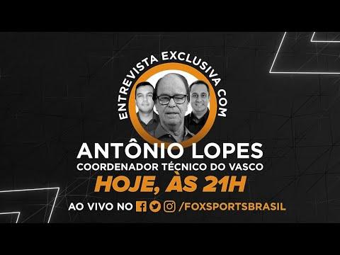 VASCO NA PAUTA! Antonio Lopes abre o jogo sobre Guarín, reforços e ambições do Cruzmaltino para 2020