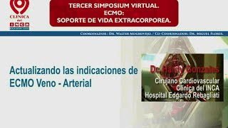 Actualizando las Indicaciones de ECMO Veno - Arterial.