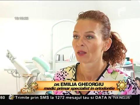 Dr. Emilia Milicin – Antena1 -Tratamentul pentru îndreptarea dinților la copii 8-03-2015