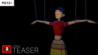 TRAILER | Award Winning CGI 3d Animated Short ** F=MALE ** Empowering Women Rights Film [PG13]
