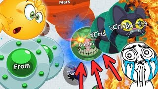"Agar.io TROLLING ""GOBLINS FROM MARS"" // TROLLING TEAMS IN AGARIO (Agar.io Funny Moments)"