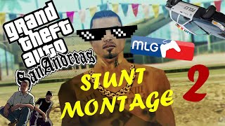 Video Preview GTA SAN ANDREAS STUNT MONTAGE 2 !!!