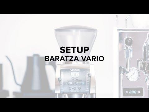 Baratza Vario Coffee Grinder Setup
