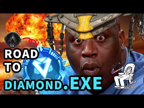鑽石之旅.EXE | 人生第一次爬到鑽石的迷因遊戲精華! 【FivOJ Gaming】