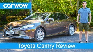 Toyota Camry 2020 In Depth Review | Carwow Reviews