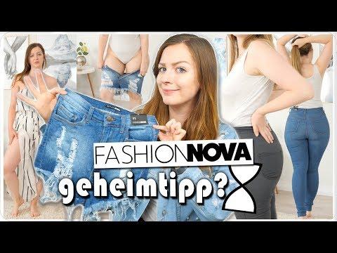 ich teste LIVE 5 Hosen für KURVIGE Frauen in Größe 40 + 42 kurz und lang - Fashionnova Try on Haul