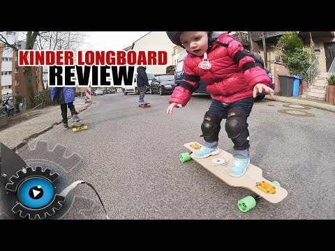 2 Jahre altes Kind fährt Longboard  - Solid Kid Review + Verlosung - [Deutsch/German]