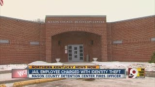 Jail employee charged with identity theft