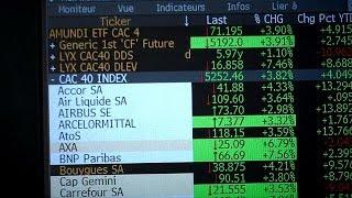 CAC40 Index El CAC-40 sube un 4%, tras adelantar Macron a Le Pen en las presidenciales francesas - markets