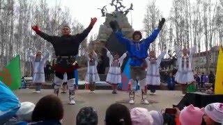 "танец с праздника ""Вороний день"""