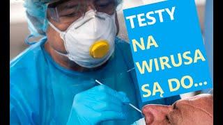 MÓJ SUBSKRYBOWANY KANAŁ – 41. Testy na wirusa są niewiarygodne.
