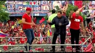 Hugo Chavez dancing