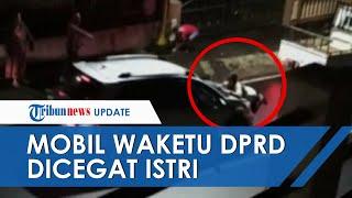 Video Detik-detik Mobil Wakil Ketua DPRD Sulut Diduga Diadang Istri hingga Terseret Beberapa Meter