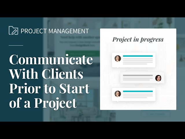 Chat Prior to Project Kick-star