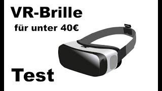 VR-Brille für JEDES Smartphone unter 40€!! Test / Review Blitzwolf VR