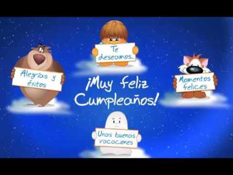 FELI 18 TARJETA FELICITACION DE CUMPLEAÑOS