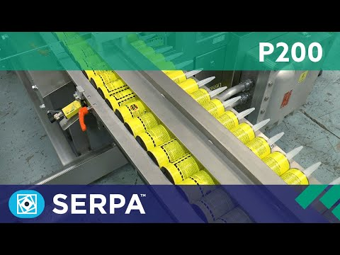 P200 Side Load Case Packer running tubes – Serpa Packaging Solutions