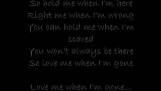 When Im gone-3 doors down  With lyrics