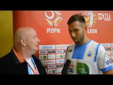 Rozmowa z Tomaszem Wełną po meczu Stomilu z Chojniczanką