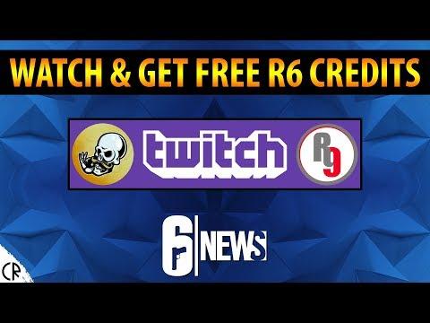 Watch & Get Free R6 Credits - 6News - Tom Clancy's Rainbow Six Siege