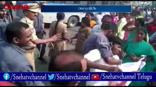 TSRTC Strike: RTC JAC Chalo Tank Bund || Protesters vs police || Million march || Sneha TV