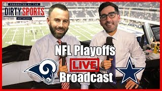 RAMS vs COWBOYS PLAYOFF LIVE COMMENTARY