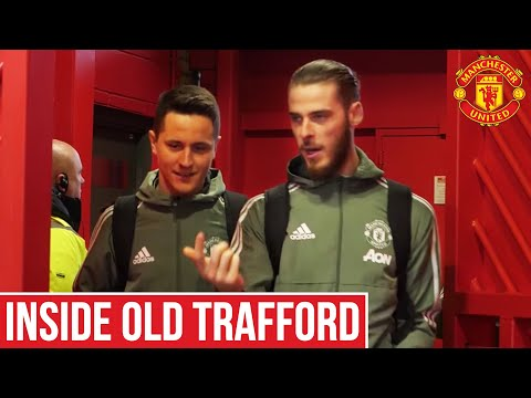 Behind The Scenes Manchester United v Swansea City | Inside Old Trafford | Manchester United