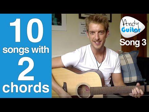 EASY 2 Chord Song #3 | U.N.I. by Ed Sheeran (Ten Guitar Songs with 2 Chords)