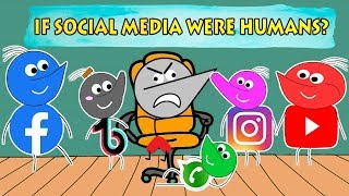 If Social Media Were Humans? | Angry Prash