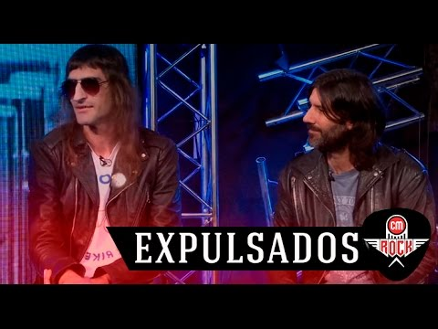 Expulsados video Entrevista CM Rock - Abril 2017