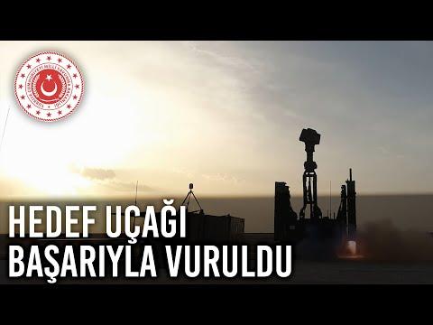 اختبارات ناجحة للمنظومة الجوية التركية