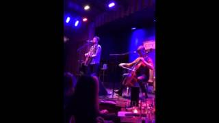 Howie Day 11/9/13 City Winery Chicago-Ghost/Beams
