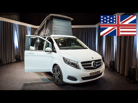 World premiere: 2015 Mercedes-Benz Marco Polo (camping van based on the V-Class)  / Debut