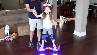 Learning To Ride A Hoverboard