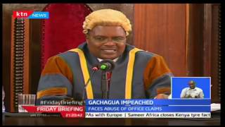 Governor James Nderitu Gachagua faces another impeachment motion from the Nyeri MCA's