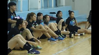 2561-04-26 วอลเลย์บอลหญิงทีมชาติไทย ลงฝึกซ้อม