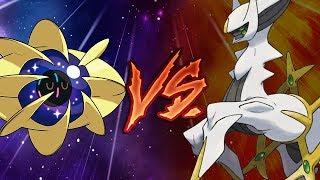 Cosmoem  - (Pokémon) - Cosmoem Support Vs LEGENDARY POKEMON!?