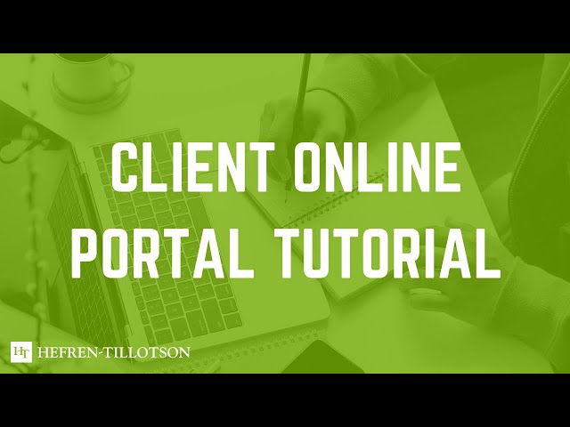 Advanced Reporting Portal & Document Vault Video Overview