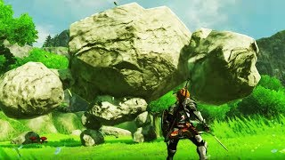 Committing Stone Talus Genocide in Breath of the Wild