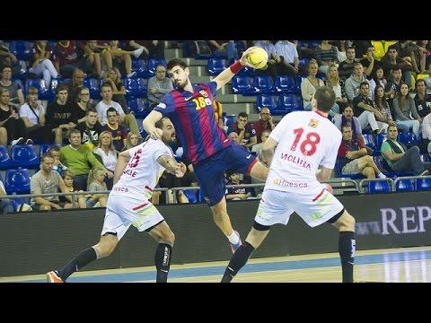 Handball: BM Huesca - FC Barcelona, 22-43 (Liga Asobal, HIGHLIGHTS)