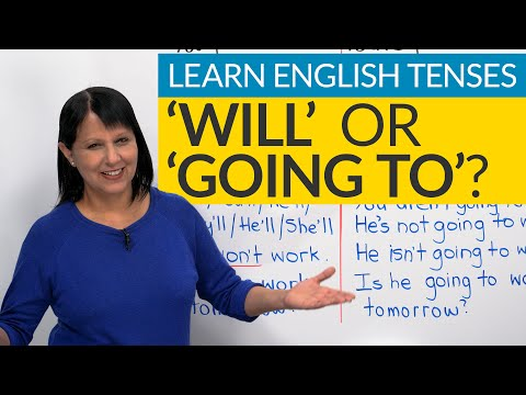 """Learn English Tenses: FUTURE  – """"will"""" or """"going to""""?"""