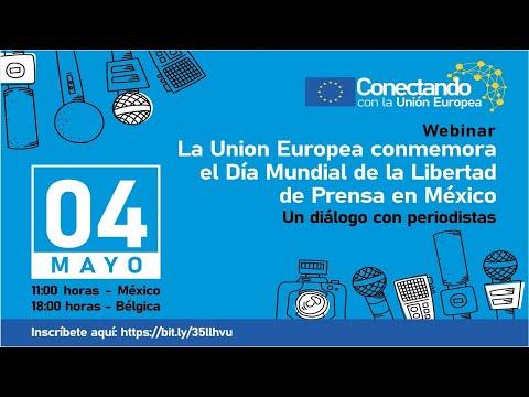 Conmemoración de la UE por el Día Mundial de la Libertad de Prensa: Un diálogo con periodistas