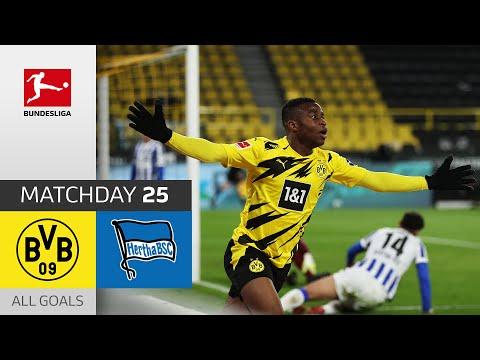 Moukoko scores first home goal! | Borussia Dortmund – Hertha Berlin | 2-0 | Bundesliga 2020/21
