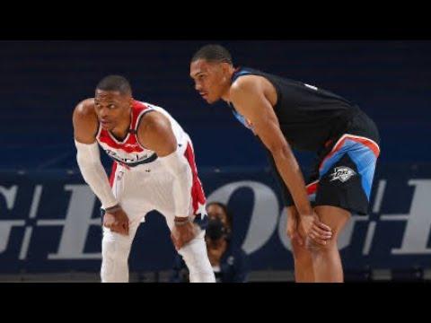 Washington Wizards vs Oklahoma City Thunder Full Game Highlights | April 23 | 2021 NBA Season