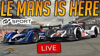 Gran Turismo Sport: New Update 1.19 (Le Mans + Group C Race Cars added)