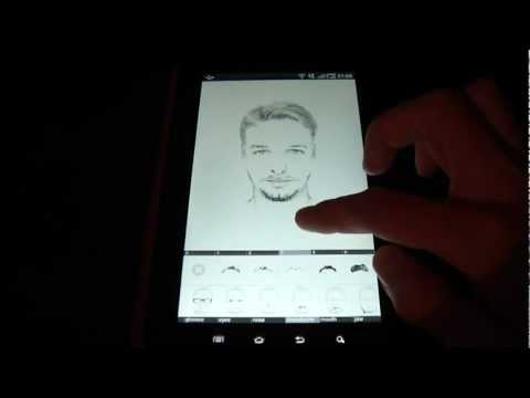 Video of FlashFace Free police tool
