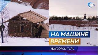 У стен Новгородского кремля началась подготовка декораций для масштабной исторической реконструкции
