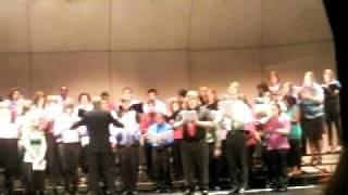 The Macomb Chorale singing The Heavens Are Telling
