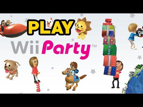 Wii Party + Original Remote #schwarz